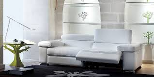 White Leather Recliner Sofa Contemporary Leather Recliner Sofa Design Cozysofa Info