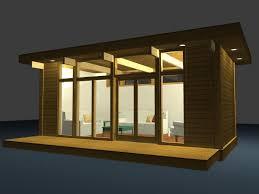 studio homes eco friendly modern studio kit by lindal cedar homes inhabitat