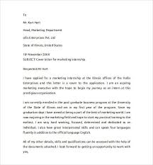 marketing assistant cover letter example of a cover letter for a