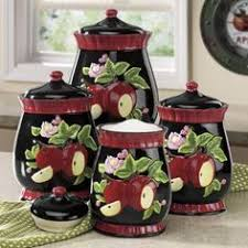 apple kitchen canisters 8 best canisters images on kitchen ideas apple