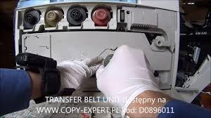 wymiana transfer unit ricoh aficio mpc2800 mpc3300 mpc4000 mpc4501