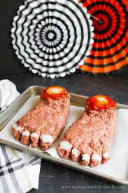 halloween feet loaf recipe dinner ideas dinners and loaf recipes
