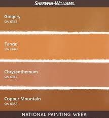 inspiration 70 warm orange paint colors design decoration of 58