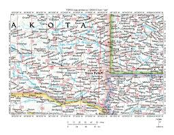 South Dakota In Usa Map by Big Sioux River Drainage Basin Landform Origins South Dakota And