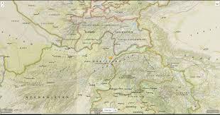 Tajikistan Map Tajikistan Videos At Abc News Video Archive At Abcnews Com
