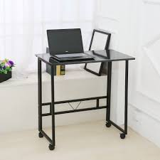 amazon com folding writing table rolling laptop notebook