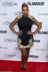 serena williams dazzles on red carpet after giving birth daily