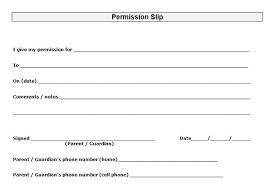 35 permission slip templates u0026 field trip forms