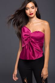 one shoulder blouse s blouses bow to me one shoulder blouse a gaci