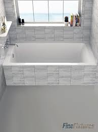 Tile Front Of Bathtub Alcove Bathtubs You U0027ll Love Wayfair