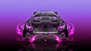 Pink And Black Mustang Make Your Car Ino Vision