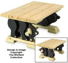 black bear coffee table all furniture black bear coffee table woodworking plan
