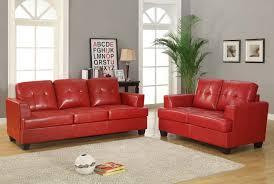 Red Leather Sofa Sets Sofas Center Red Sofa Set Arrangements Modernic Sets Leather
