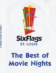 Six Flags Logo Six Flags Movies
