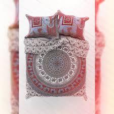 queen size duvet cover polka dot cartoon applique embroidered