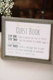 wedding guest book sign diy new jersey wedding at the raritan inn from lange