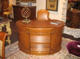 kidney shaped desk in cherry custom desks vintage seating mission