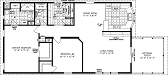 How Big Is 550 Square Feet Small Mobile Homes Small Home Floor Plans