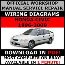 honda civic 1996 car service u0026 repair manuals ebay