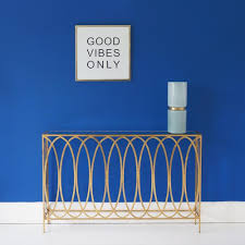 Hallway Table by Slim Gold Console Table Metal Gold Console Table