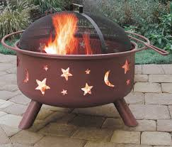 Moon And Stars Fire Pit