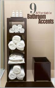 decorative bathroom ideas bathroom design awesome over the toilet towel rack decorative