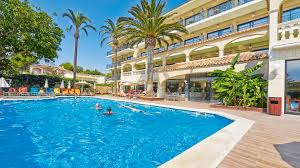Laguna Bad Allsun Hotel Lago Playa Park Auf Mallorca In Cala Ratjada Spanien