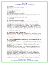 Sample Resume For Manual Testing by Manual Testing Interview Question By Infotech