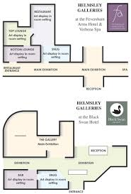 Art Gallery Floor Plan by Exhibitions At The Helmsley Galleries