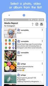 repost instagram apk media repost for instagram apk free social app for