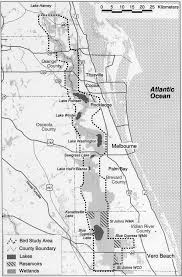 St Johns Florida Map by Map Of The Upper St Johns River Basin And The Upper St