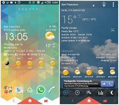 best android weather widget introducing 12 best weather apps and widgets for android