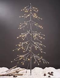 Lighted Branch Tree Amazon Com Northlight White Lighted Christmas Cascade Twig Tree