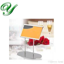 2018 place card holders table number holder silver table card