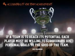 if a team is to