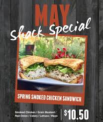 food of the month may shack special of the month carnitas snack shack