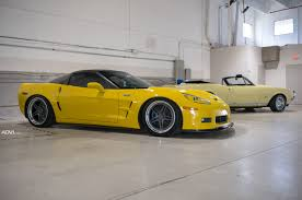 c6 corvette chevrolet c6 corvette zr1 adv05 track function cs gunmetal