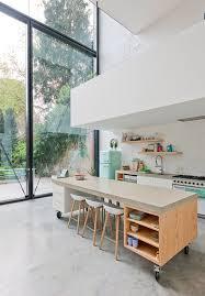 cuisine ouverte avec ilot table 465 best cuisines avec îlot central images on kitchen