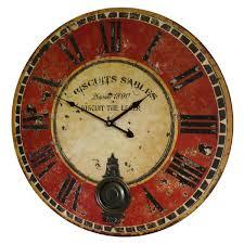 Horloge Murale Silencieuse by Horloge Murale De Salon En Bois Achat Vente Horloge Murale De
