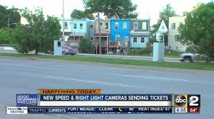 baltimore red light camera more speed and red light cameras activated in baltimore youtube