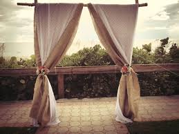 wedding arches decorated with burlap 45 best weddings in florida images on florida