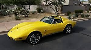 1976 corvette yellow 1976 chevrolet corvette cars for sale