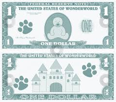 fake money clipart collection