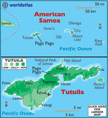 map samoa american samoa map geography of american samoa map of american