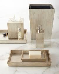 Bathroom Vanity Accessories Luxury Bath Accessories At Neiman