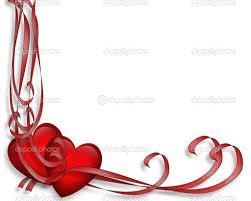 valentines day red hearts border u2014 stock photo irisangel 2241461