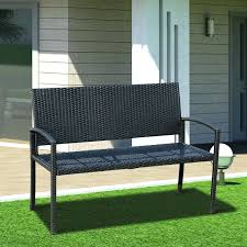 Garden Bench With Storage Walmart Outdoor Bench Cushions Storage Backless Hixathens