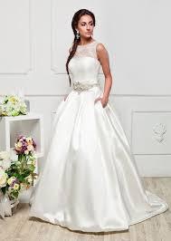 Dream Wedding Dresses Satin Or Lace Wedding Dress 5755