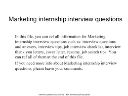 marketing internship interview questions 1 638 jpg cb u003d1402691342