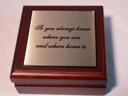 wedding gift engraving quotes desk compass so you will always where you are and where home is